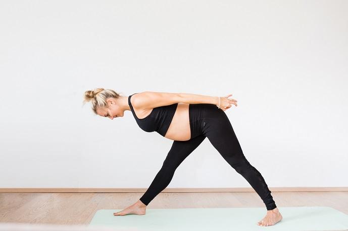 Monkey Yoga Schwangerschaft